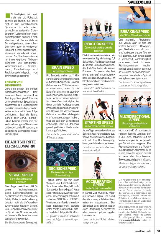 Mens-Fitness Die Speedmatrix Seite 2